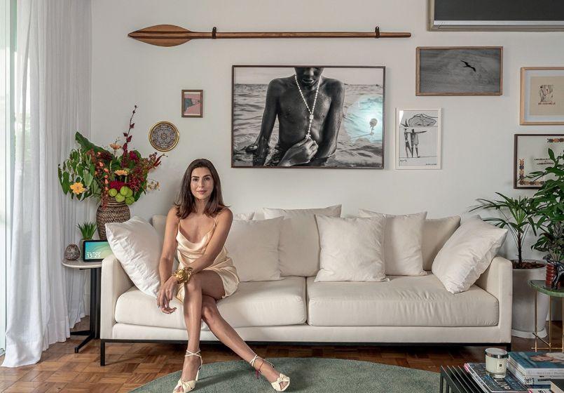 Fernanda Paes Leme mostra seu apartamento em São Paulo