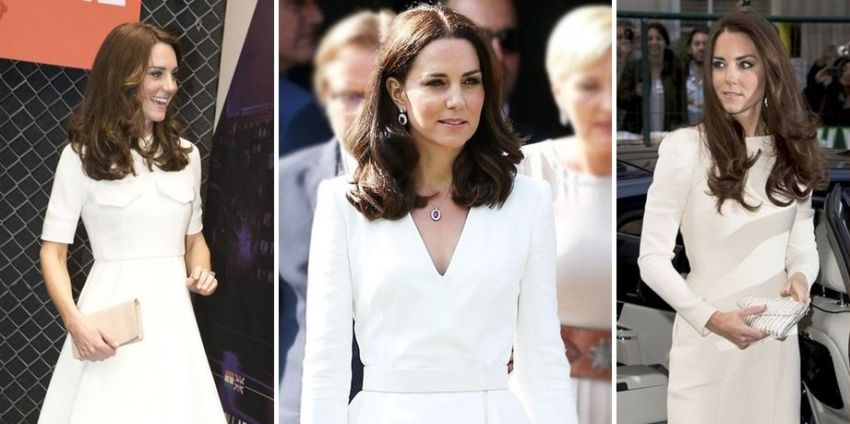 15 Vestidos brancos de Kate Middleton para noivas