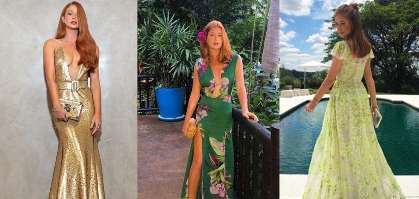 Vestidos de festa de Marina Ruy Barbosa