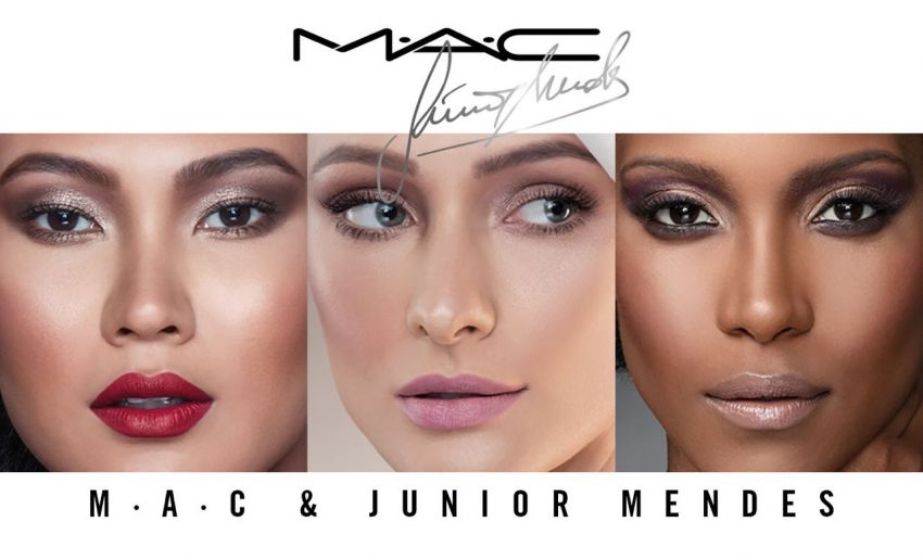 Kits de maquiagem: Junior Mendes + MAC Cosmetics