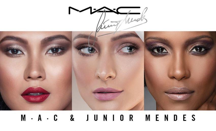 Kits de maquiagem: Junior Mendes + MAC Cosmetics