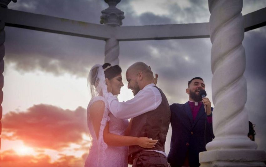 Casamento surpresa de Leandro e Jéssica