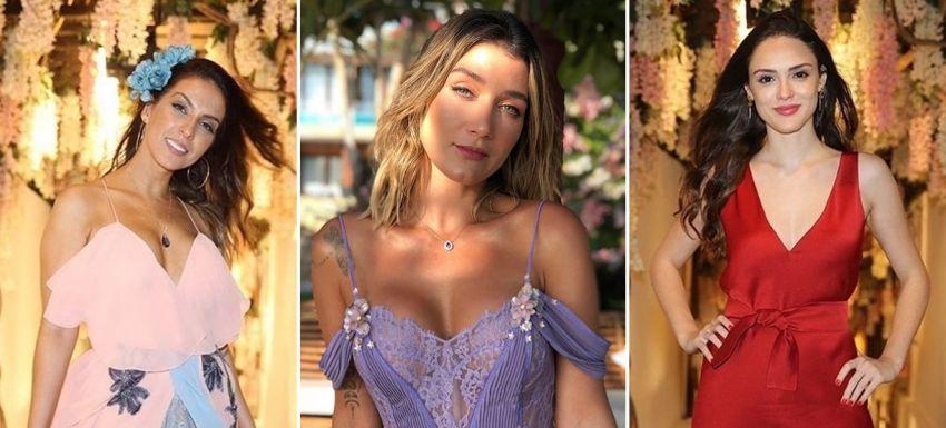 Look das Convidadas - Casamento Camila Queiroz e Klebber Toledo