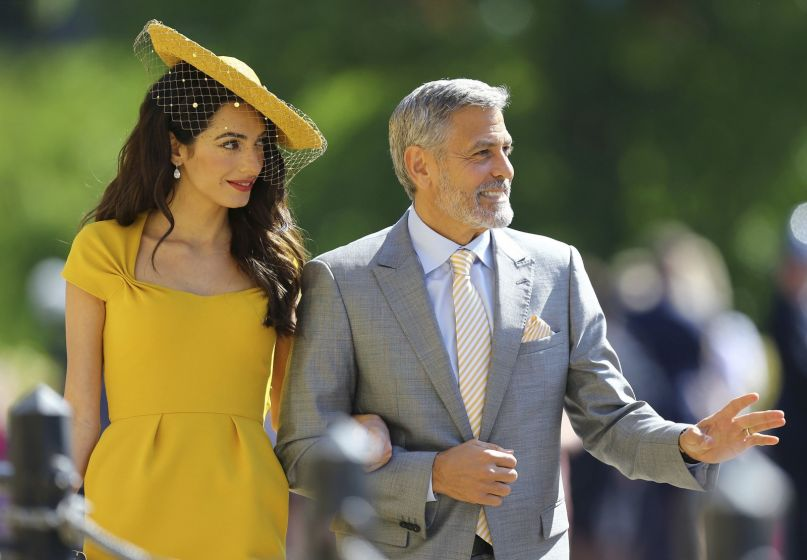 Looks dos convidados do casamento real