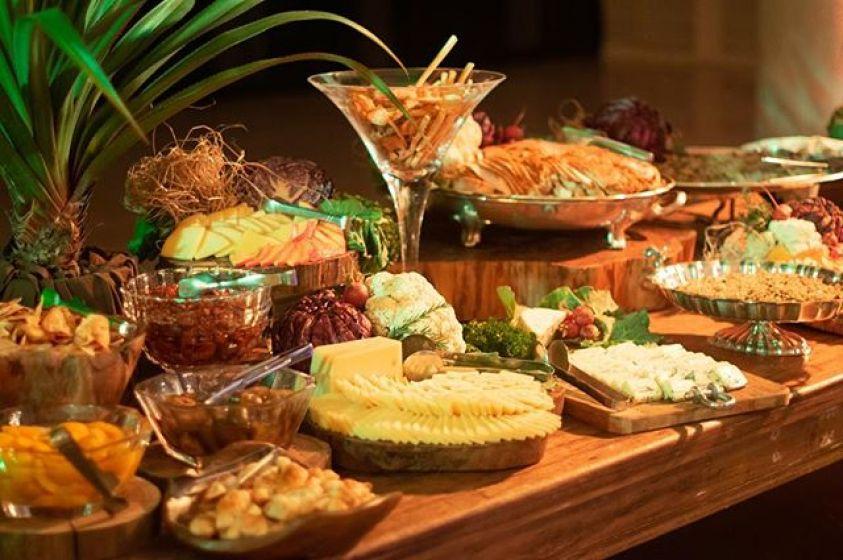 As delícias do buffet da Maison Blu'nelle para casamento