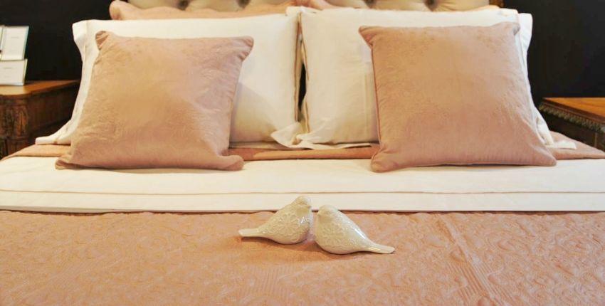 Cama linda, cheirosa e macia na hora de dormir