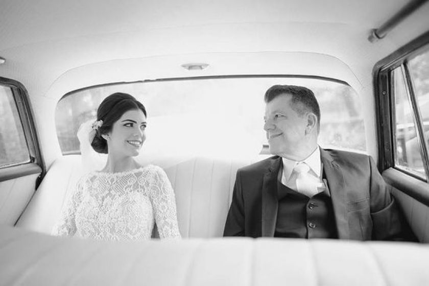 Momentos para noiva homenagear o pai no grande dia