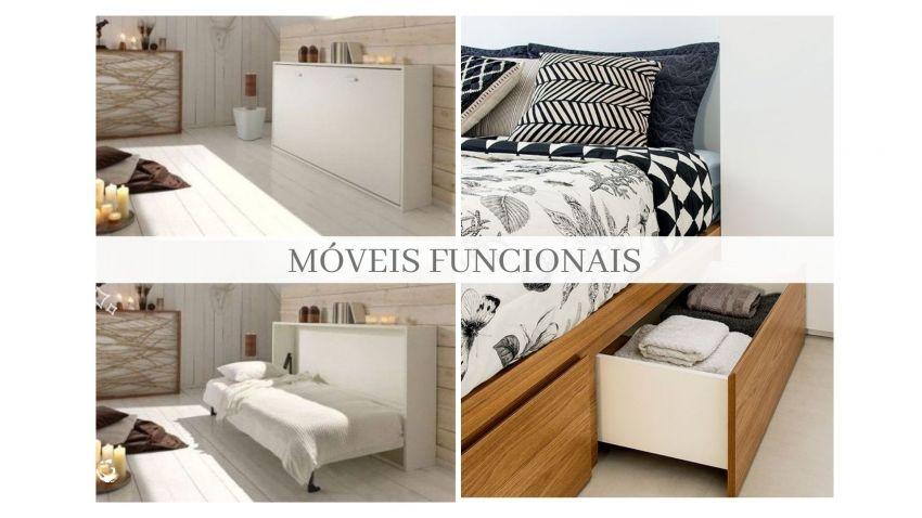 Móveis Funcionais para quarto