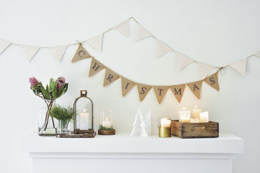Inspiração: Decoração de Natal no estilo escandinavo