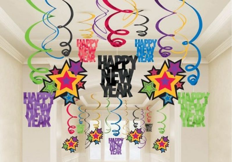 New Year: Decorando a casa para o ano novo