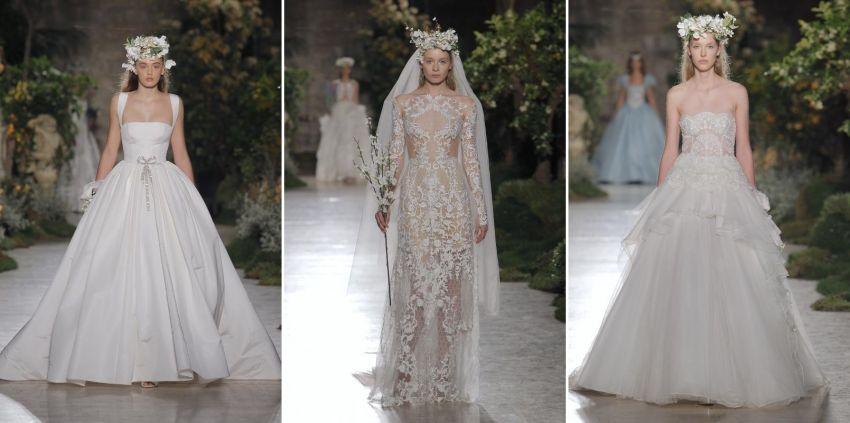 Vestidos de Noiva Reem Acra - Barcelona Bridal Week 2018