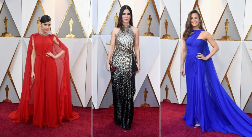 Os vestidos do Oscar 2018