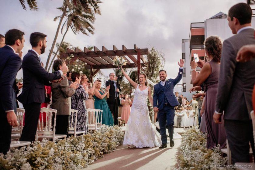 Porto Pinheiro Recepções - Casamento à beira mar de João Pessoa
