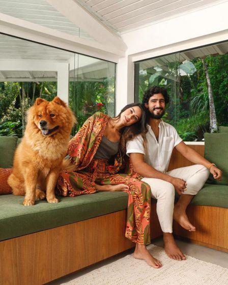 Thaila Ayala mostra detalhes da sua casa no Rio de Janeiro