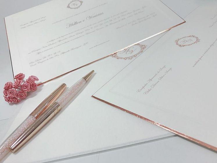 Tipos de convites de casamentos, informações e prazos de entrega