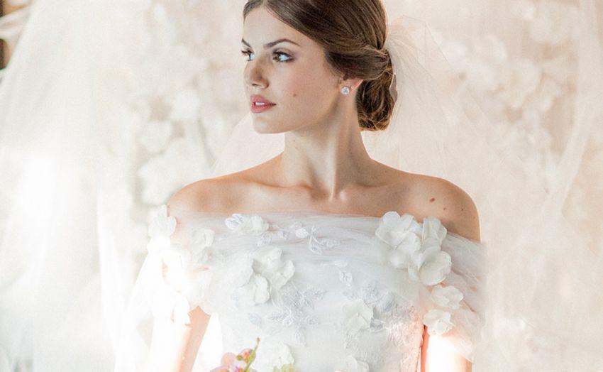 Vestido de noiva da atriz Camila Queiroz