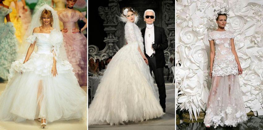 Vestidos de Noiva Chanel Haute Couture