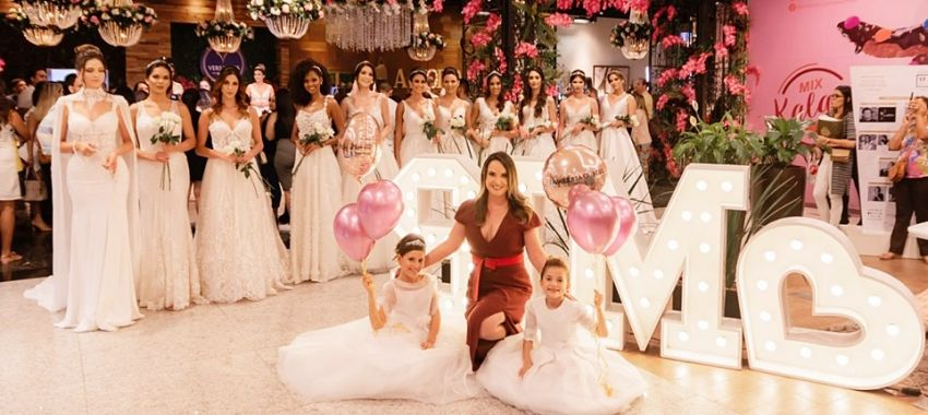 Desfile Vestidos de Noiva  por Valéria Gurgel