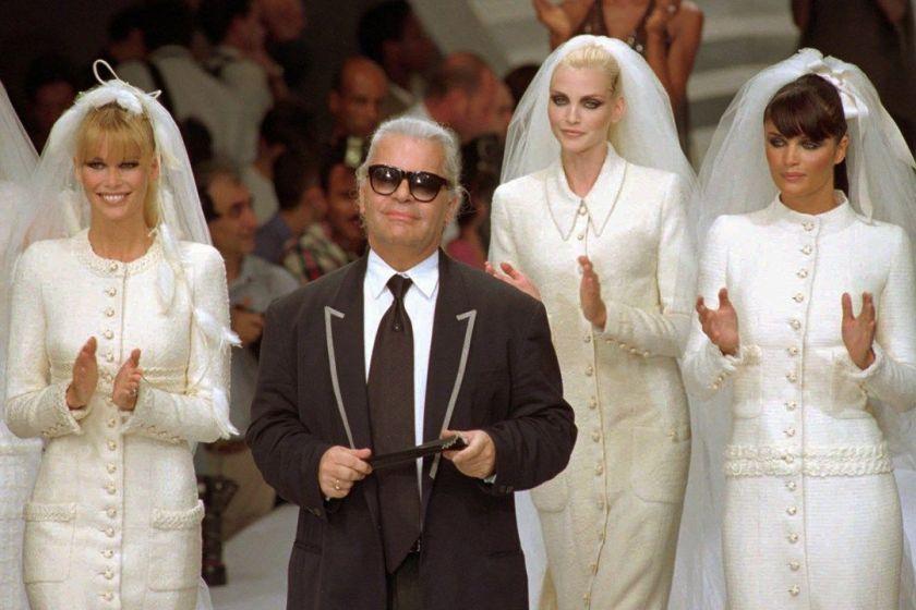 vestidos de noiva da chanel