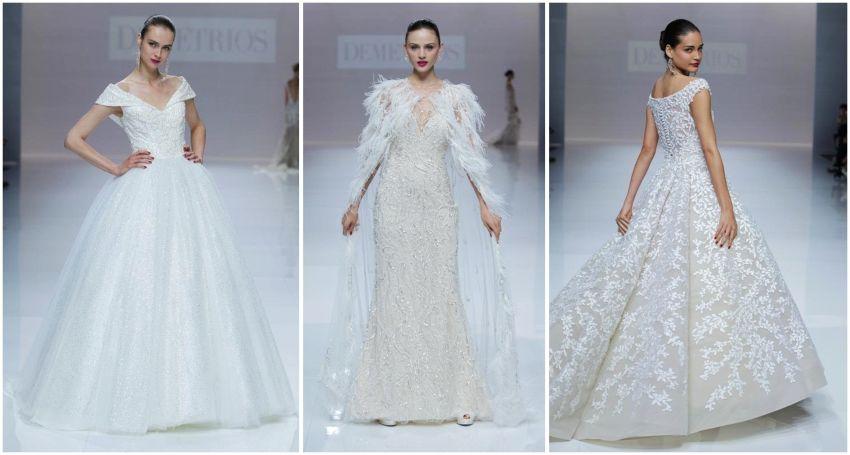 Vestidos de Noiva Demetrios - Barcelona Bridal Week 2018