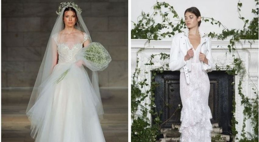 Vestidos de Noiva Reem Acra e Monique Lhuillier - NY Bridal Week