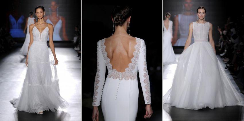 Vestidos de Noiva Rosa Clará - Barcelona Bridal Week 2018
