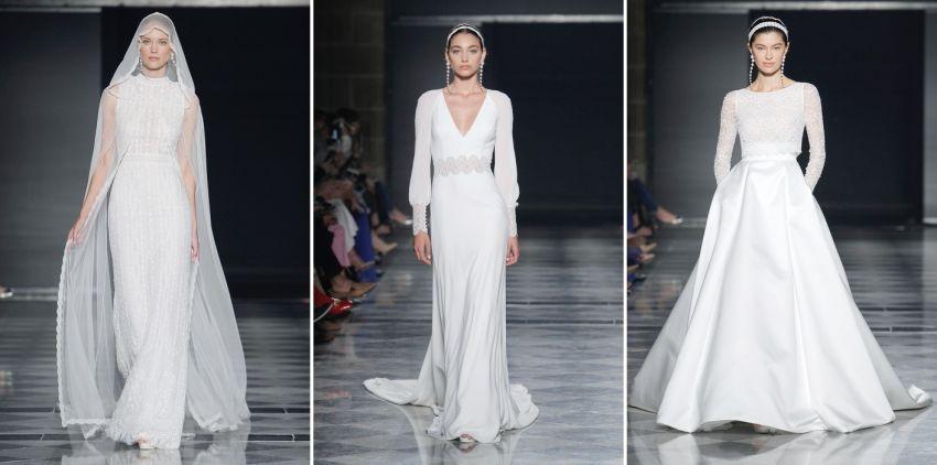 Vestidos de noiva Rosa Clará - Barcelona Bridal Week 2019