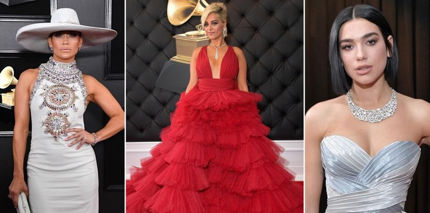 Vestidos do Grammy 2019