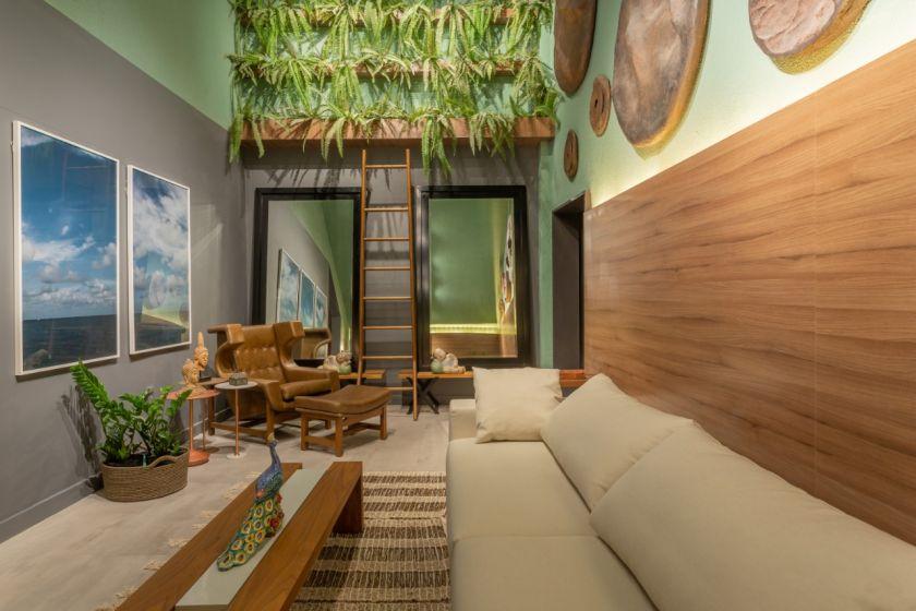CASACOR PB 2018: Zen Lounge - Alain Moszkowicz e Brenner Ribeiro