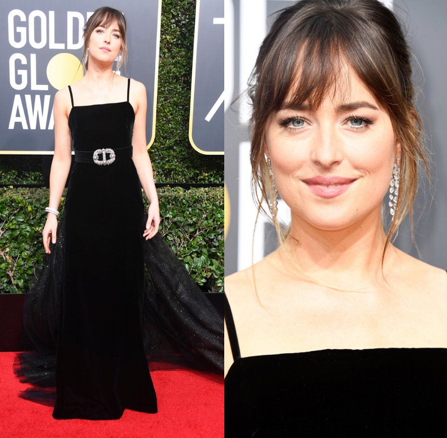 GLOBO DE OURO -  DAKOTA JOHNSON - GUCCI